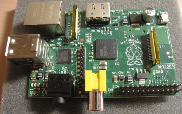 Raspberry pi(ラズベリーパイ)に接続できるカメラの試作品ができたみたいです