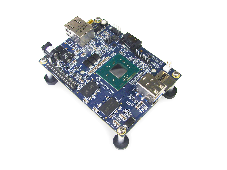 99$からでintel CPU搭載の1ボードPC「Minnow Board MAX」がでるみたいです