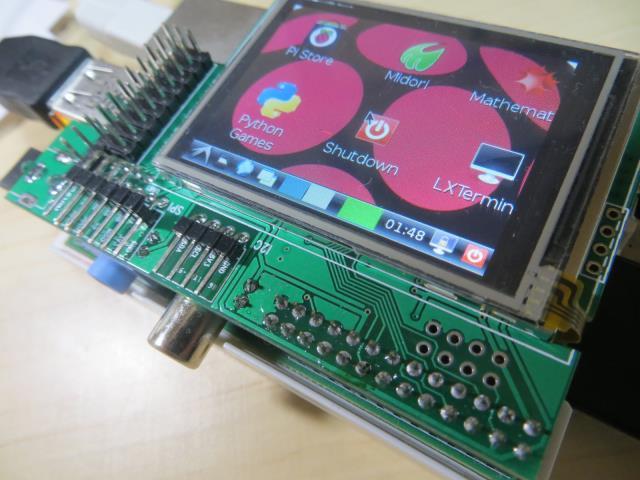 ラズベリーパイで使える2000円の液晶「MZTX-PI-EXT」の2.5インチ版が販売されているみたいです #raspberrypi