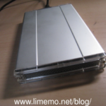 【使ってみた】USB3に対応して1000円ぐらいで買えるケース「FHC-260SV」 #ポータブルHDD #ケース #安い